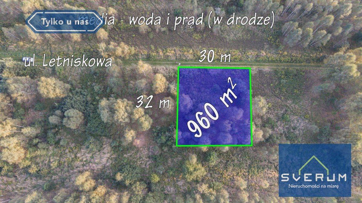Działka budowlana na sprzedaż Łysiec, Letniskowa  960m2 Foto 3