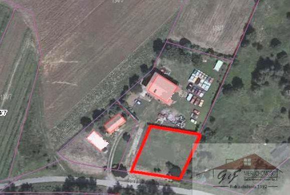 Działka budowlana na sprzedaż Sobiecin  652m2 Foto 5