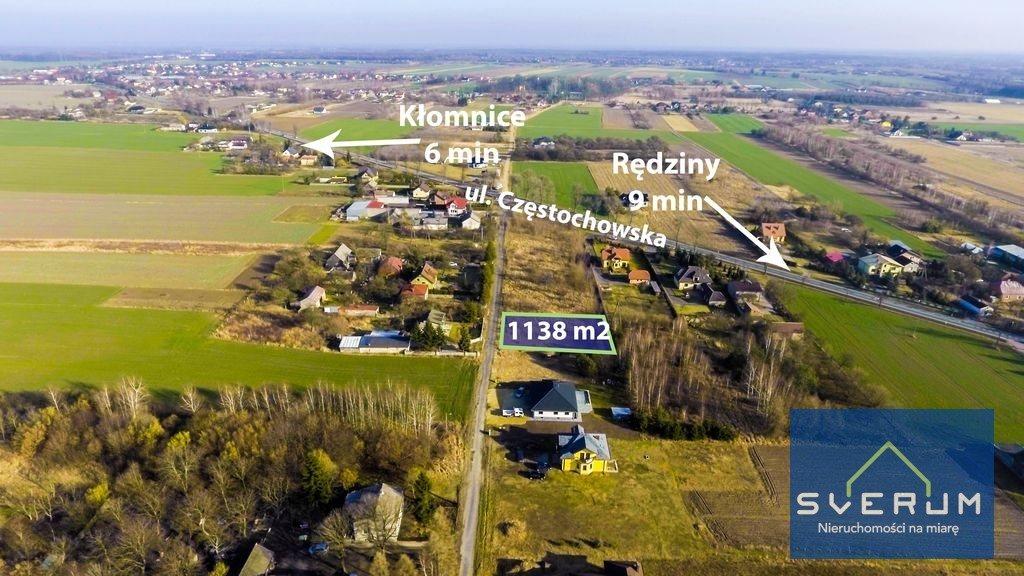 Działka budowlana na sprzedaż Chorzenice, Leśna  1138m2 Foto 3