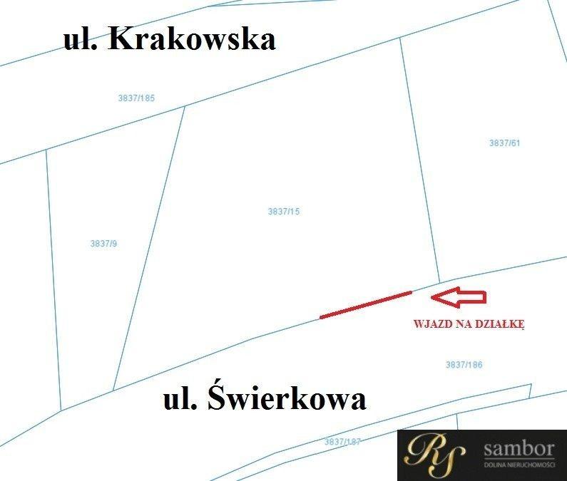 Działka inwestycyjna na sprzedaż Bielsko-Biała, Krakowska  597m2 Foto 4
