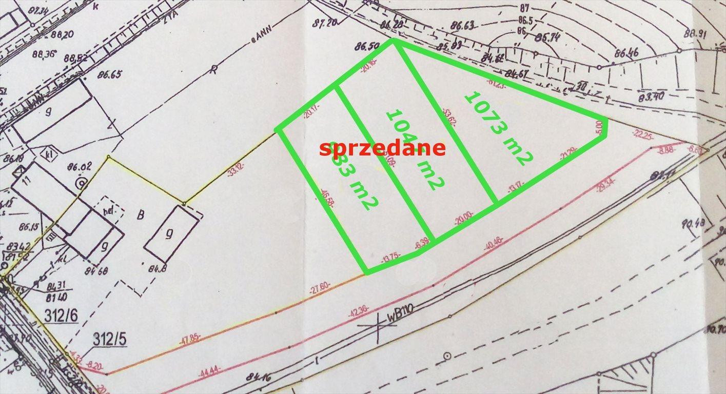 Działka budowlana na sprzedaż Rosnówko, Jarosławiecka/Nowa  1073m2 Foto 10