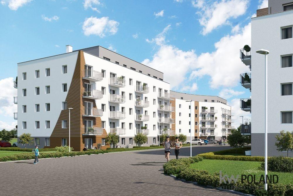 Mieszkanie trzypokojowe na sprzedaż Poznań, Nowe Miasto, abpa Walentego Dymka  50m2 Foto 2