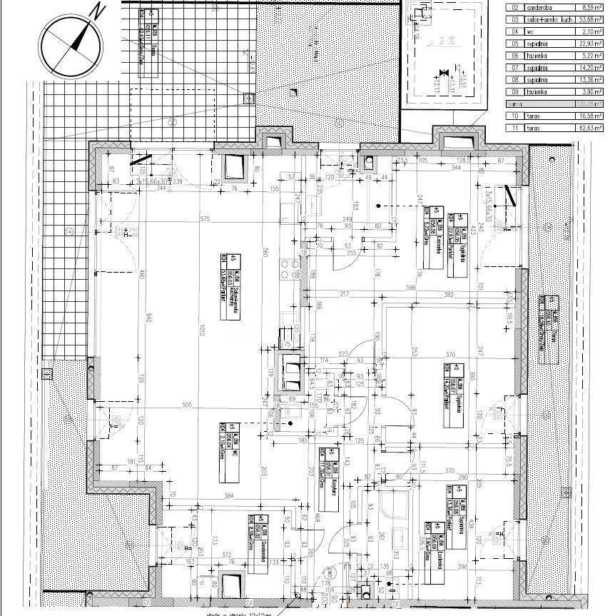 Mieszkanie czteropokojowe  na sprzedaż Warszawa, Wilanów, Wilanów, Teodorowicza  135m2 Foto 7