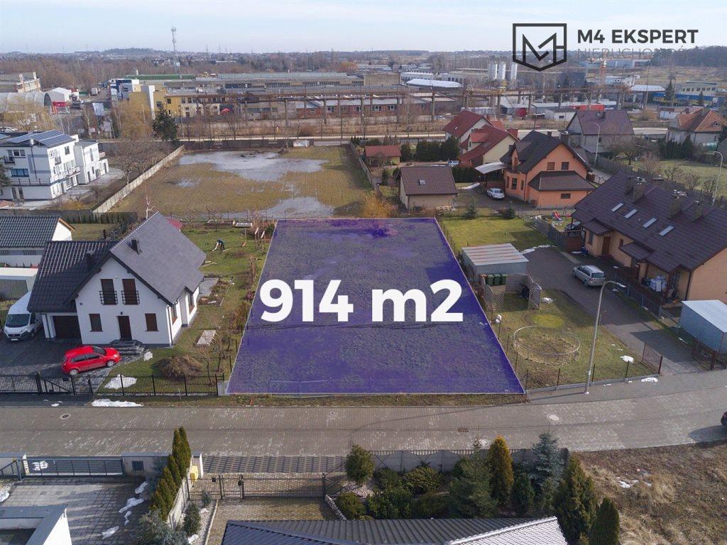 Działka inna na sprzedaż Ostrów Wielkopolski, Przyjacielska  914m2 Foto 3