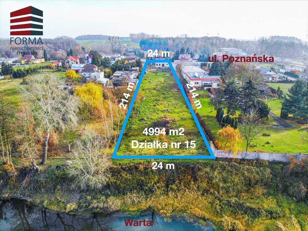 Działka budowlana na sprzedaż Czapury, Poznańska  4994m2 Foto 2