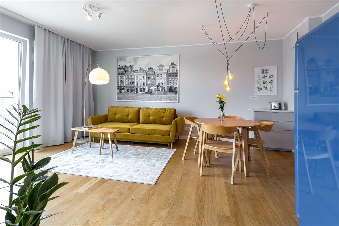 Mieszkanie dwupokojowe na wynajem Poznań, Stare Miasto, Garbary  45m2 Foto 1