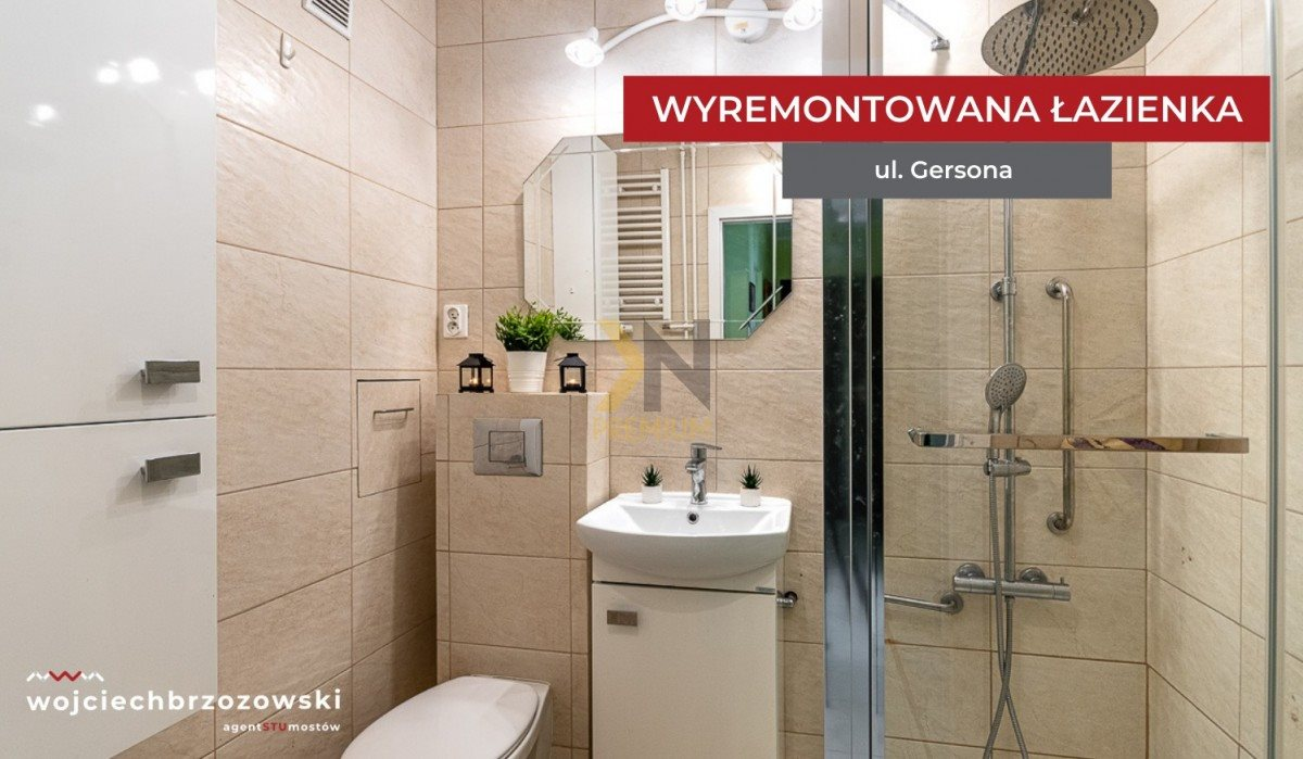 Mieszkanie trzypokojowe na sprzedaż Wrocław, Biskupin, Wojciecha Gersona  48m2 Foto 3