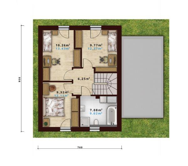 Dom na sprzedaż Czechowice-Dziedzice  98m2 Foto 5