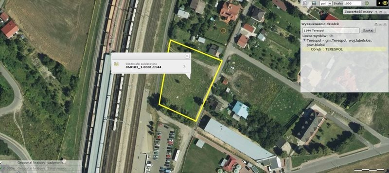 Działka inwestycyjna na sprzedaż Terespol  3254m2 Foto 1