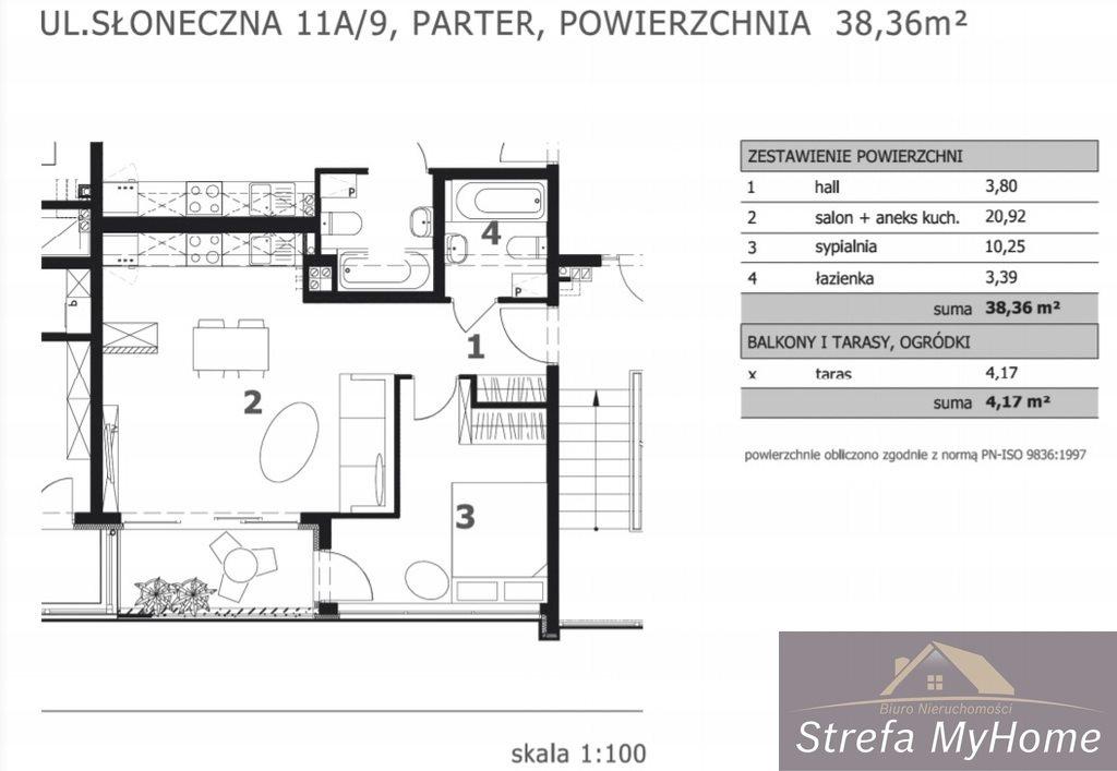 Mieszkanie dwupokojowe na sprzedaż Łukęcin  38m2 Foto 5