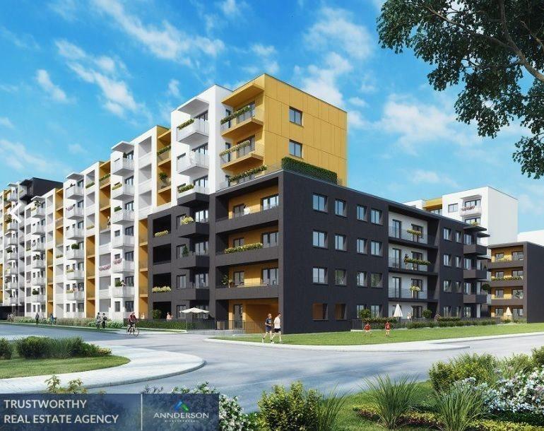 Mieszkanie trzypokojowe na sprzedaż Kraków, Podgórze, Malborska  65m2 Foto 2