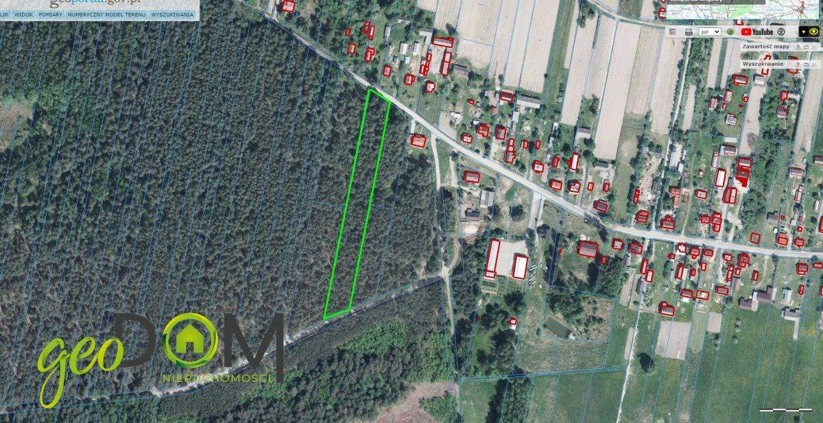 Działka leśna na sprzedaż Styrzyniec  6200m2 Foto 1