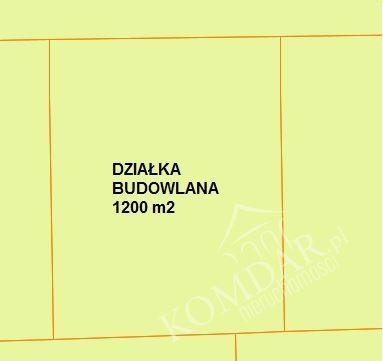 Działka budowlana na sprzedaż Warszawa, Białołęka, Olesin  1200m2 Foto 2