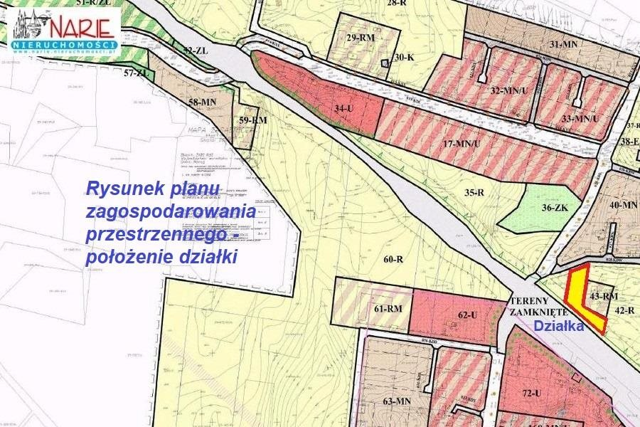Działka budowlana na sprzedaż Żabi Róg  3300m2 Foto 6