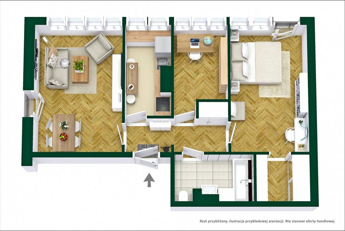 Mieszkanie trzypokojowe na sprzedaż Warszawa, Bielany Marymont, Marymoncka  62m2 Foto 10