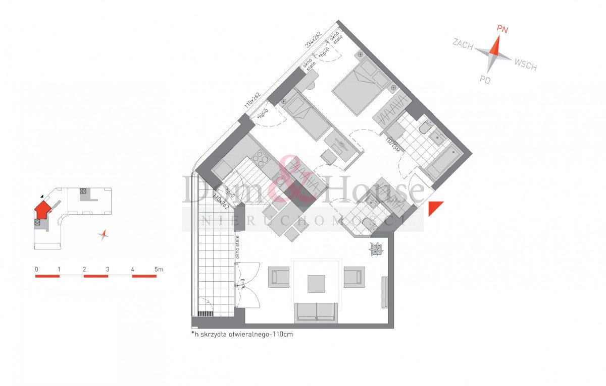 Mieszkanie trzypokojowe na sprzedaż Gdańsk, Przymorze, Dąbrowszczaków  69m2 Foto 4
