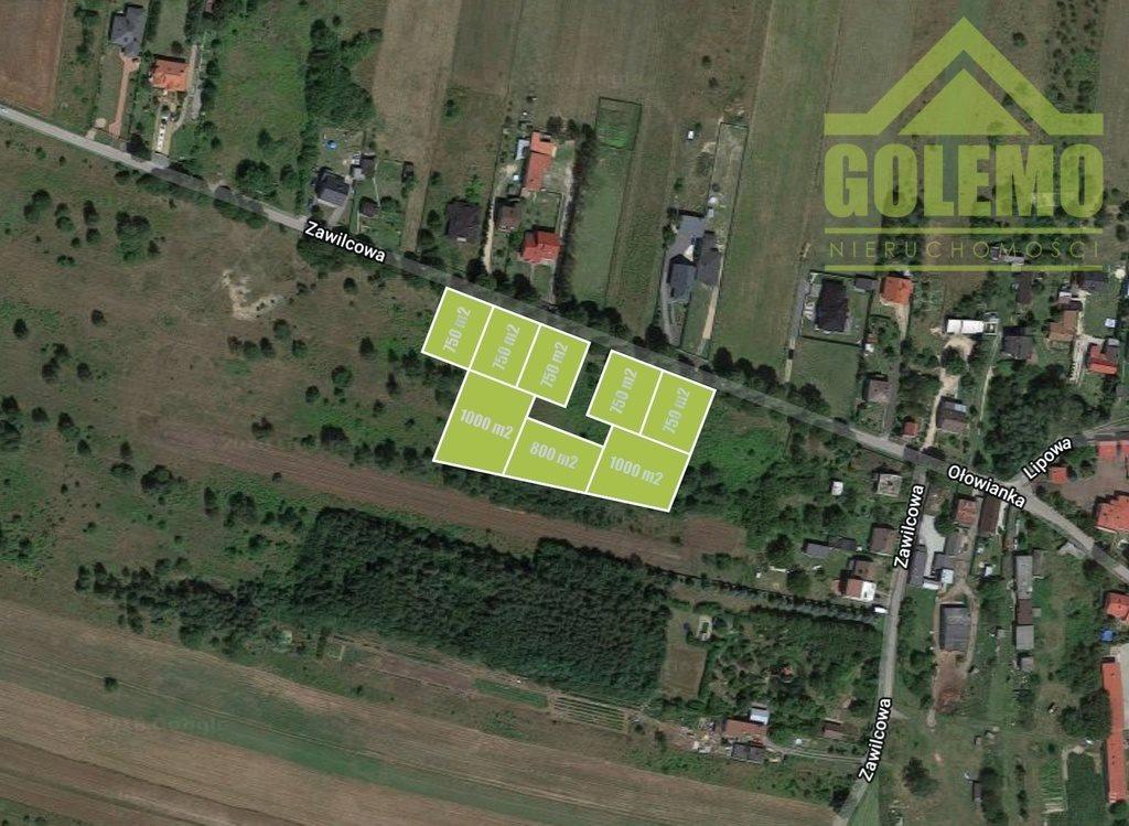 Działka budowlana na sprzedaż Częstochowa, Zawilcowa  750m2 Foto 1
