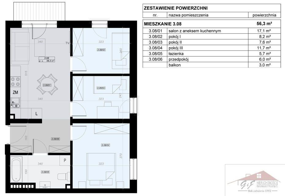 Mieszkanie czteropokojowe  na sprzedaż Przemyśl, Tatarska  56m2 Foto 7