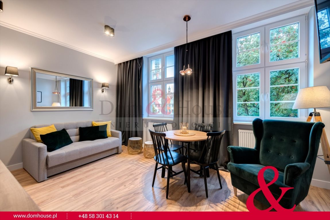 Mieszkanie trzypokojowe na wynajem Gdańsk, Śródmieście, Ogarna  50m2 Foto 1