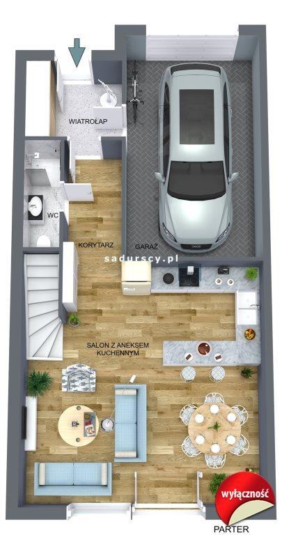 Dom na sprzedaż Liszki, Rączna, Rączna, Rączna  131m2 Foto 3