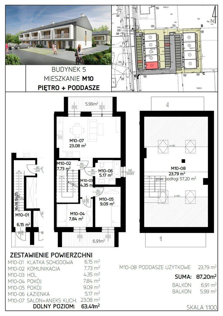 Mieszkanie czteropokojowe  na sprzedaż Rzeszów, Aroniowa  87m2 Foto 7