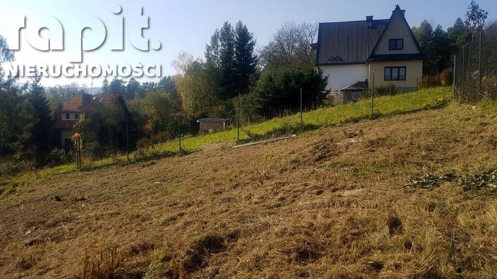 Działka budowlana na sprzedaż Myślenice  1637m2 Foto 4
