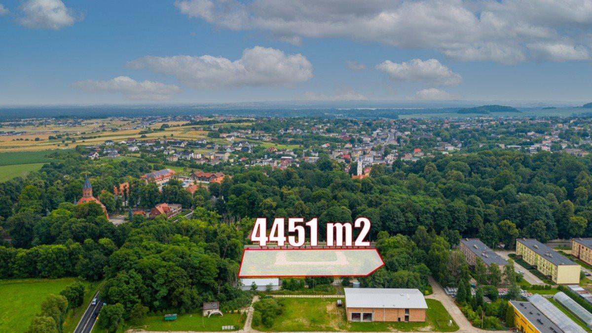 Działka przemysłowo-handlowa na sprzedaż Nakło Śląskie, Powstańców  4451m2 Foto 10