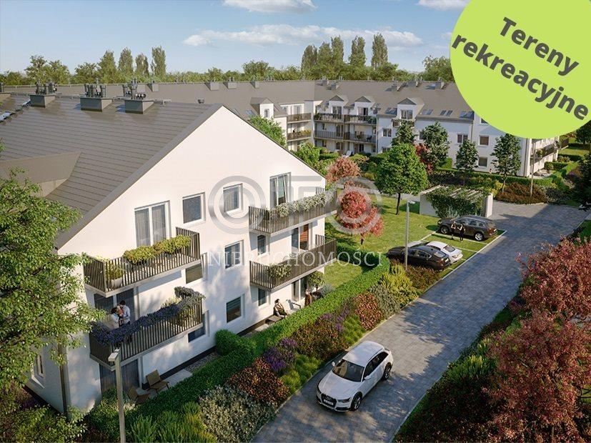 Mieszkanie trzypokojowe na sprzedaż Wrocław, Krzyki, Księże Małe, Księska  48m2 Foto 4
