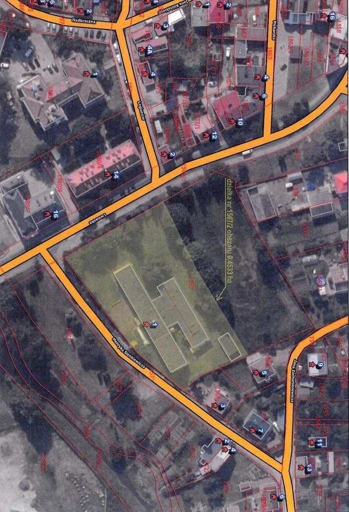 Lokal użytkowy na sprzedaż Radymno, Henryka Sienkiewicza  1631m2 Foto 2