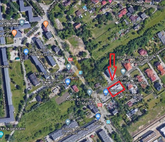 Lokal użytkowy na sprzedaż Wrocław, Księże Wielkie, Zagłębiowska  805m2 Foto 1