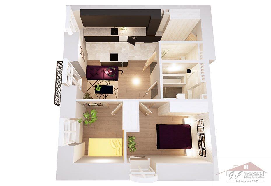 Mieszkanie trzypokojowe na sprzedaż Przemyśl, Tatarska  54m2 Foto 4