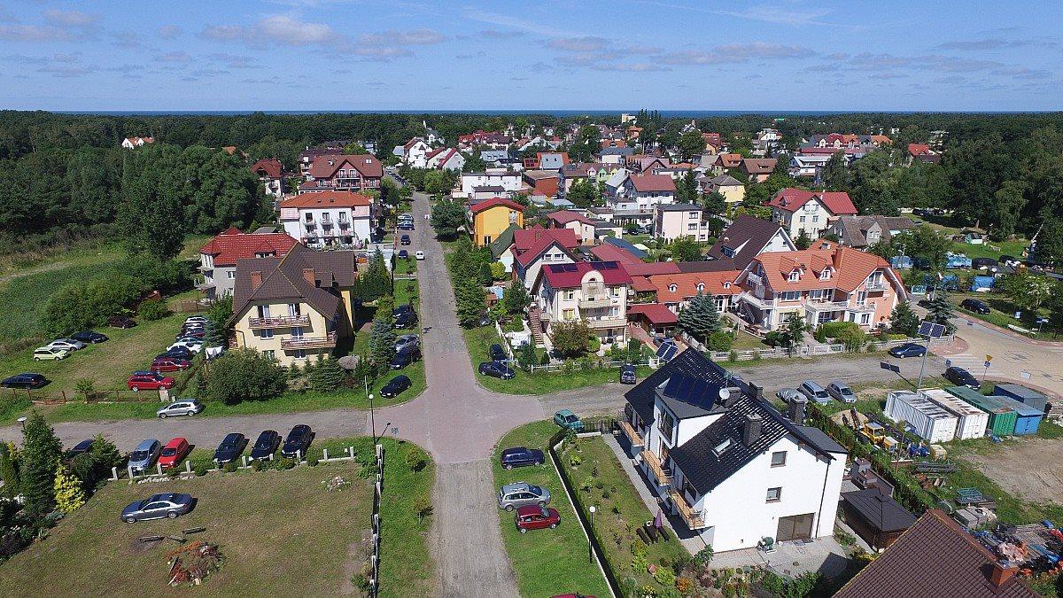 Działka budowlana na sprzedaż Międzywodzie, Łąkowa  1226m2 Foto 9