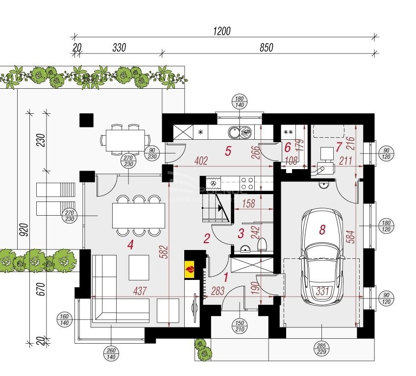 Dom na sprzedaż Banino  133m2 Foto 4
