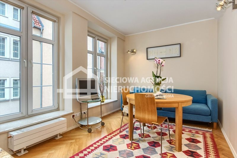 Mieszkanie dwupokojowe na wynajem Gdańsk, Śródmieście, Ogarna  44m2 Foto 1