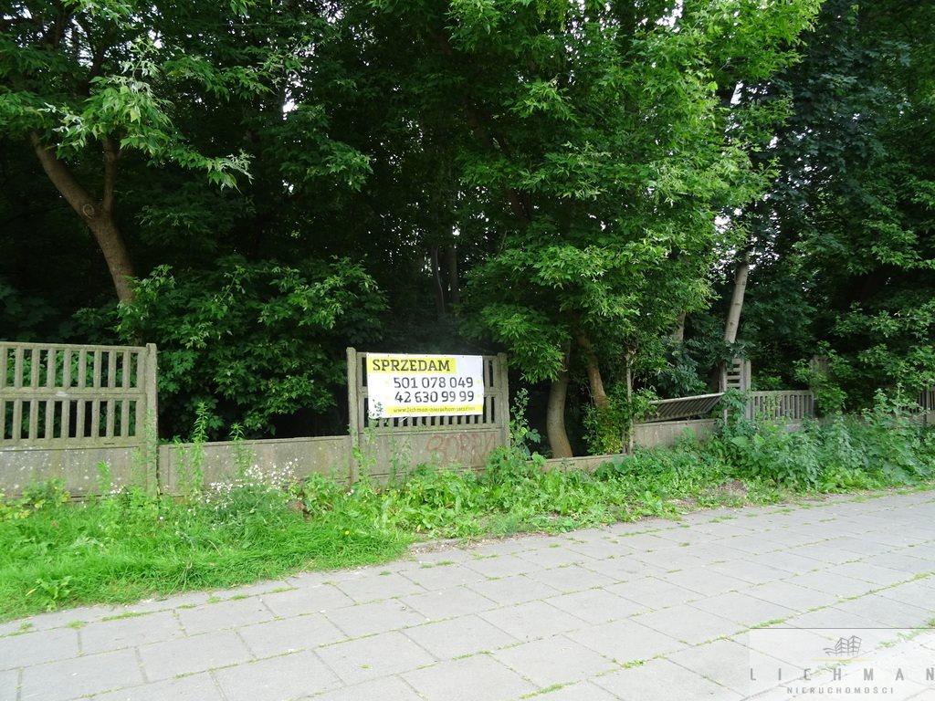 Działka budowlana na sprzedaż Łódź, Os. Radiostacja  2639m2 Foto 1