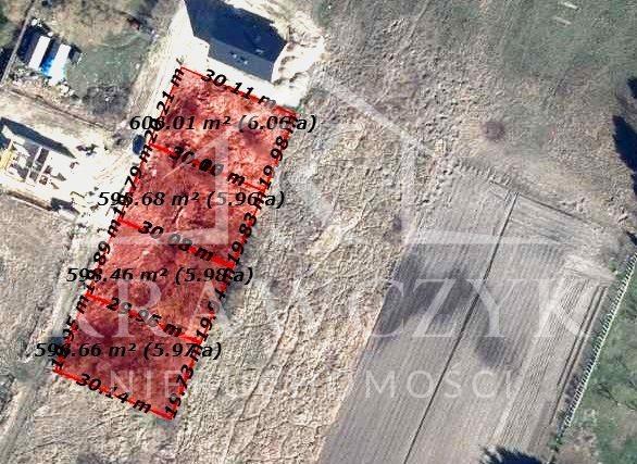 Działka inna na sprzedaż Mierzyn  606m2 Foto 4