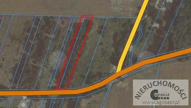 Działka rolna na sprzedaż Przytoka  1822m2 Foto 1