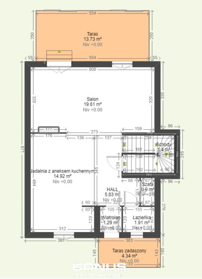 Dom na sprzedaż Jaworowa  80m2 Foto 12