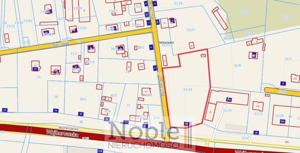 Działka budowlana na sprzedaż Wejherowo  5892m2 Foto 6