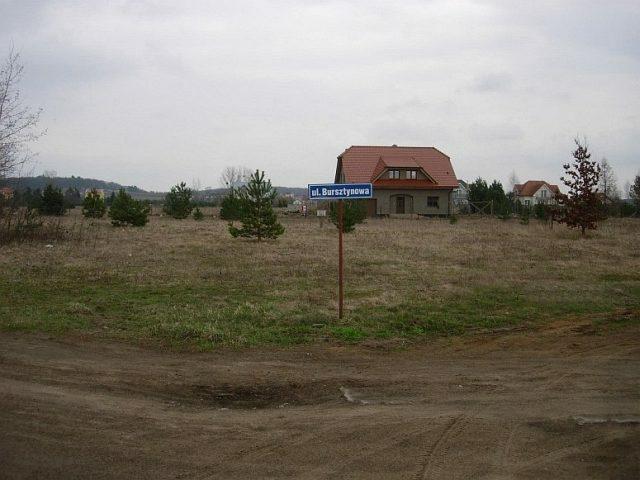 Działka budowlana pod dzierżawę Chwaszczyno, bursztynowa  1053m2 Foto 12