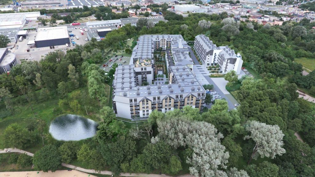 Mieszkanie dwupokojowe na sprzedaż Poznań, Śródka, Nadolnik II etap  41m2 Foto 12