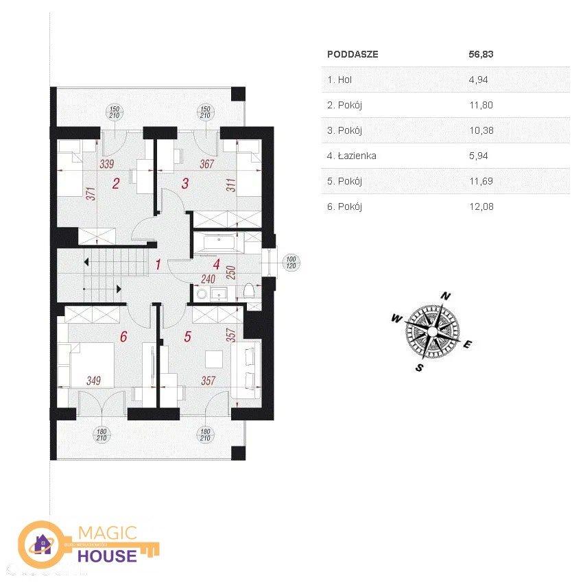 Dom na sprzedaż Bojano, Rzemieślnicza  125m2 Foto 4
