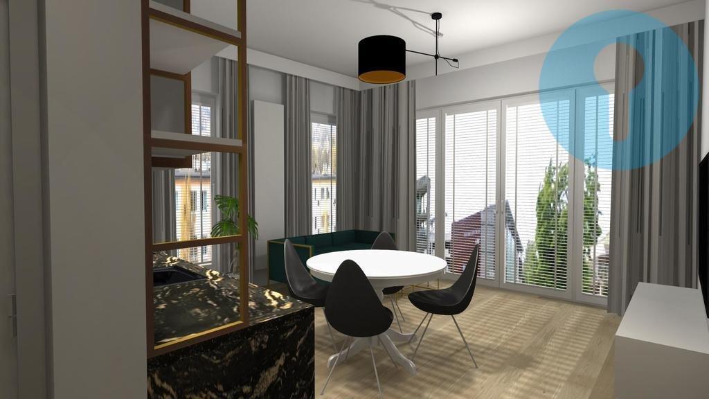 Mieszkanie trzypokojowe na wynajem Kielce, Centrum  55m2 Foto 4