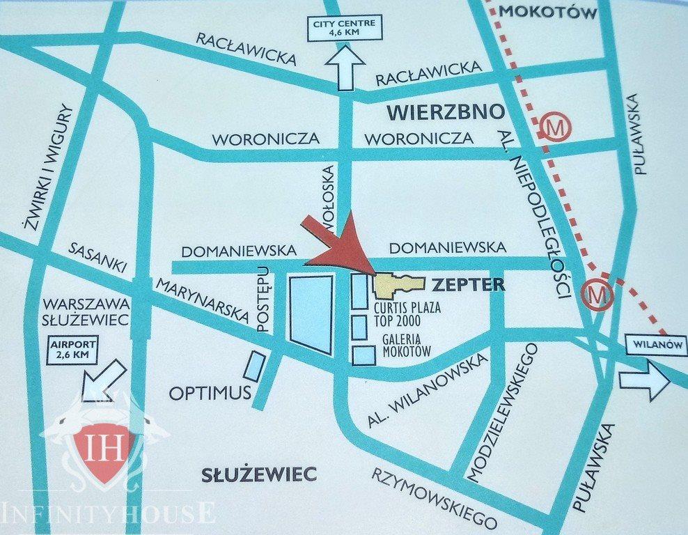 Lokal użytkowy na wynajem Warszawa, Mokotów, Wierzbno, Domaniewska  90m2 Foto 8