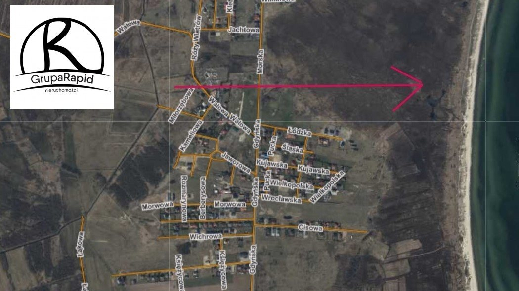Działka siedliskowa na sprzedaż Rewa, Wałowa  8216m2 Foto 2