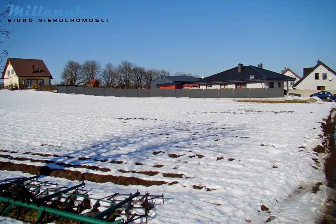 Działka budowlana na sprzedaż Nowy Dwór Wejherowski, Mahoniowa  1186m2 Foto 1