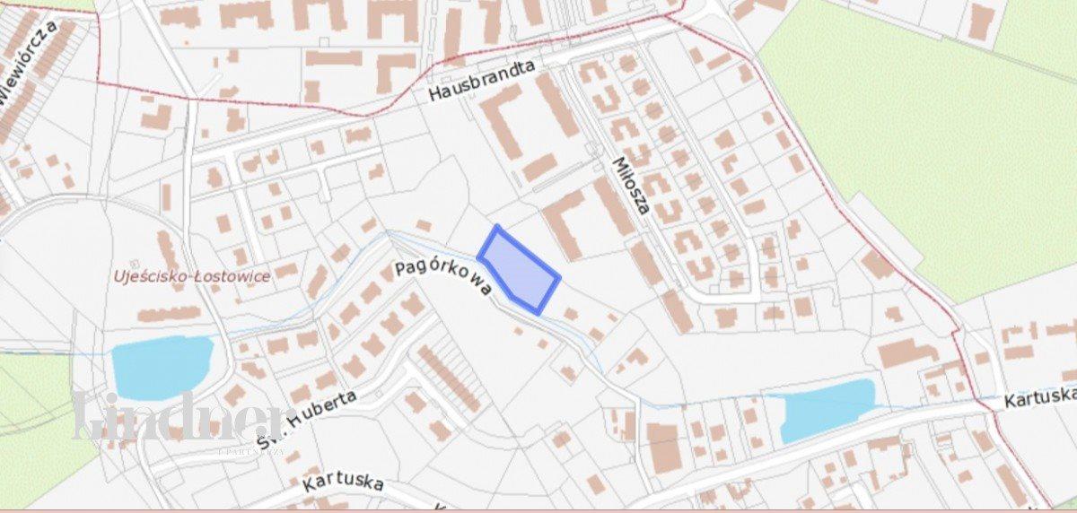 Działka budowlana na sprzedaż Gdańsk, Zabornia, Pagórkowa  3243m2 Foto 8