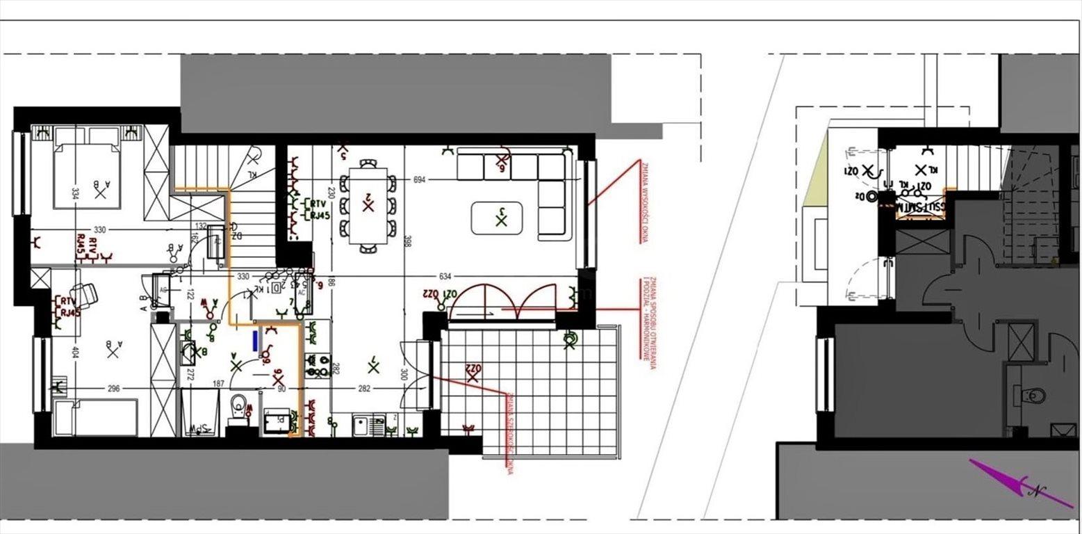 Mieszkanie trzypokojowe na sprzedaż Ząbki, Szwoleżerów  81m2 Foto 12