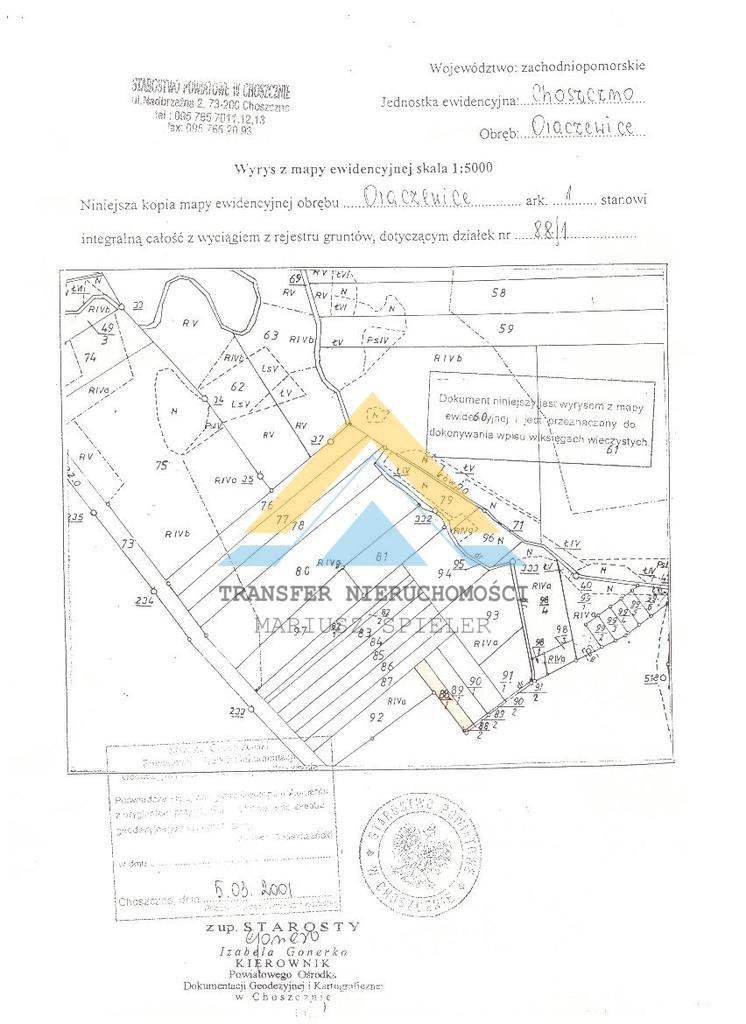 Działka rolna na sprzedaż Choszczno, Norwida  2300m2 Foto 4