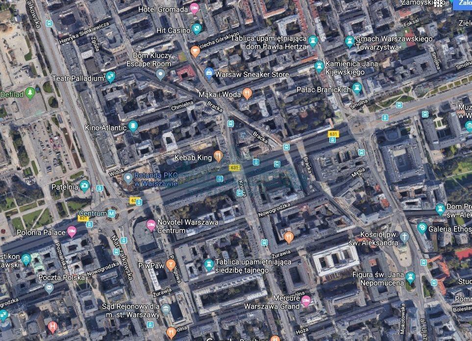 Lokal użytkowy na wynajem Warszawa, Śródmieście  101m2 Foto 1